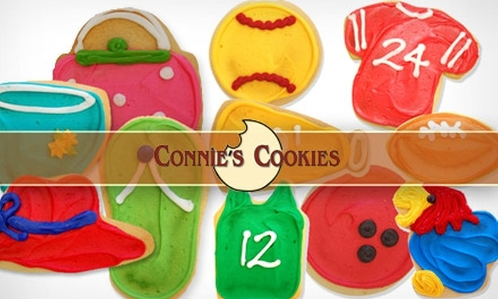 Connie's Cookies - Benjamin Hills: $10 for $20 Worth of Frosted Cookies at Connie's Cookies