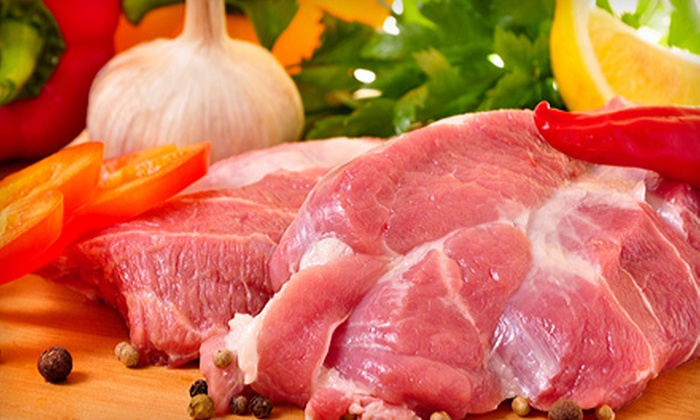 Marvin's Garden of Gourmet Foods - South Atlanta: Meat or Seafood Delivery Package from Marvin's Garden of Gourmet Foods (Up to 54% Off)
