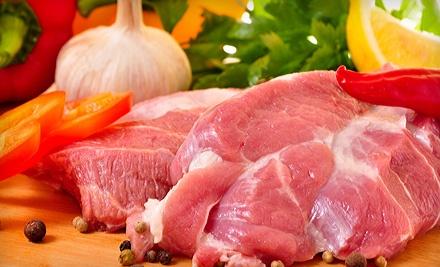 Grilling Fan Meat Package (a $74 value) - Marvin's Garden of Gourmet Foods in