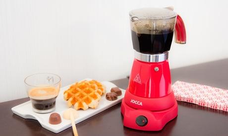 Cafetera eléctrica italiana Jocca