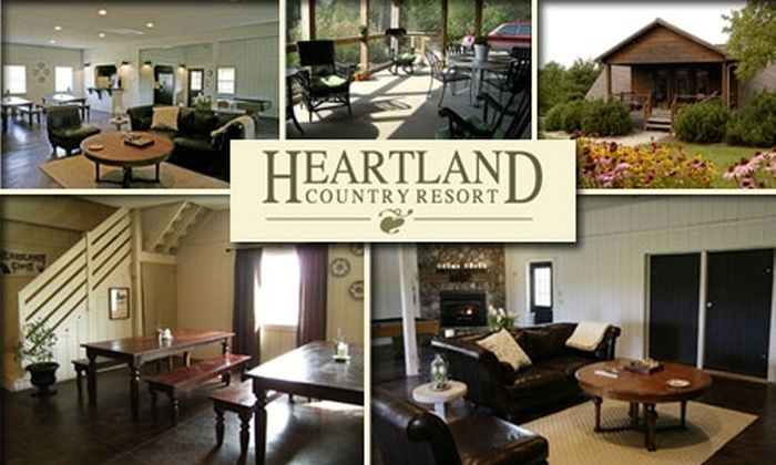 Heartland Country Resort - Chester: $100 for a One-Night Resort Getaway at Heartland Country Resort (Up to $225 Value)