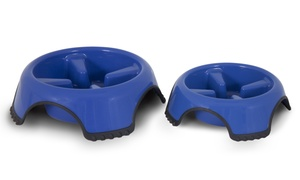 Aspen Pet Skid-Stop Slow-Feed Bowl