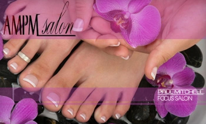 AmPm Salon - West Park: $39 for a Rejuvenating, Luxurious Manicure and Pedicure at AmPm Salon ($80.25 Value)
