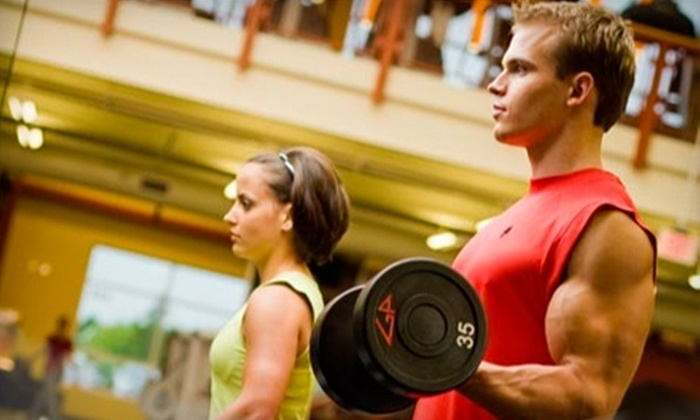 Gold's Gym  - Clinton: $79 for Three Personal-Training Sessions and a Three-Month Membership at Gold's Gym ($540 Value)