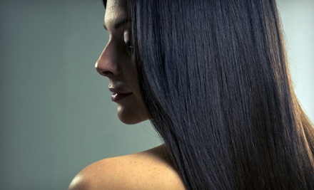 Womens Haircut and Moroccanoil Conditioning Treatment  - Make Me Over Salon Spa in Port Moody