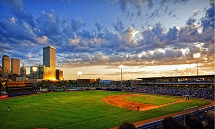 Tulsa Drillers - Downtown Tulsa: $4 for One Field Reserved-Seat Ticket to the Tulsa Drillers Game at OneOK Field on Saturday, July 23 at 7:05 p.m. ($8 Value)