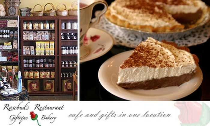 Rosebuds Giftique and Bakery - Greenway Park: $10 for $20 Worth of Café Fare and Baked Goods at Rosebud's Giftique & Bakery