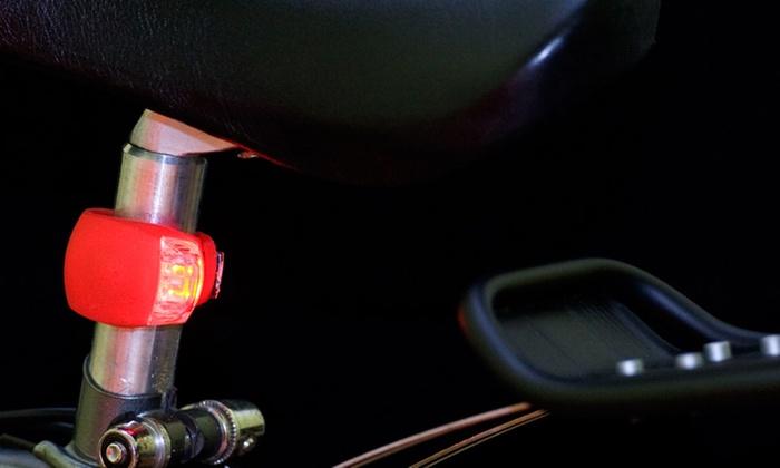 Silicone LED Bike Light (2-Pack): Silicone LED Bike Light (2-Pack)
