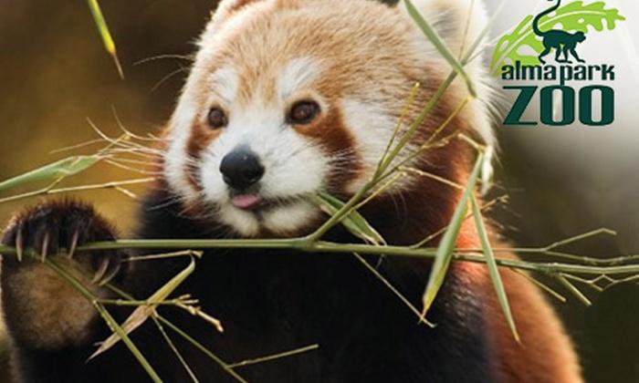 Alma Park Zoo - Dakabin: Admission to Alma Park Zoo - Single ($18), Double ($34) or Family Pass ($39), Dakabin (Up to $105 Value)