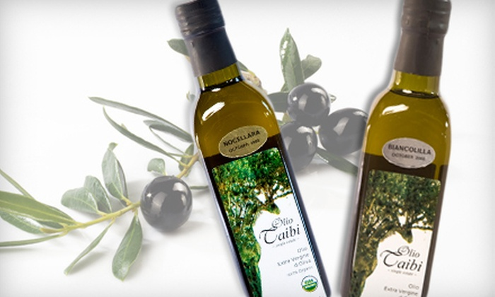Olio Taibi: $25 for a Bottle of High-End Artisanal Olive Oil with Free Shipping from Olio Taibi ($49.99 Value)