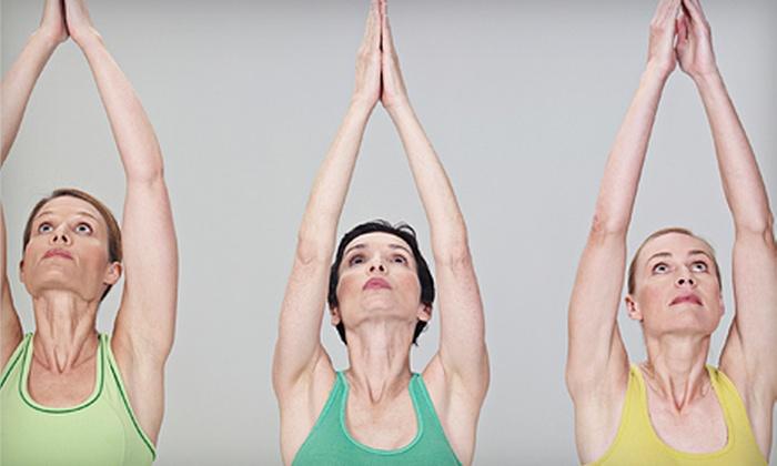 Easton Yoga Center - Easton: 10 or 15 Classes at Easton Yoga Center (Up to 64% Off)