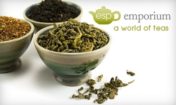 ESP Emporium - Evansville: $15 for $30 Worth of Tea from ESP Emporium