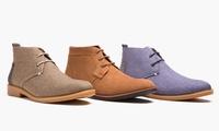 Oak & Rush Mens Casual Chukka Boots (Multi Colors)