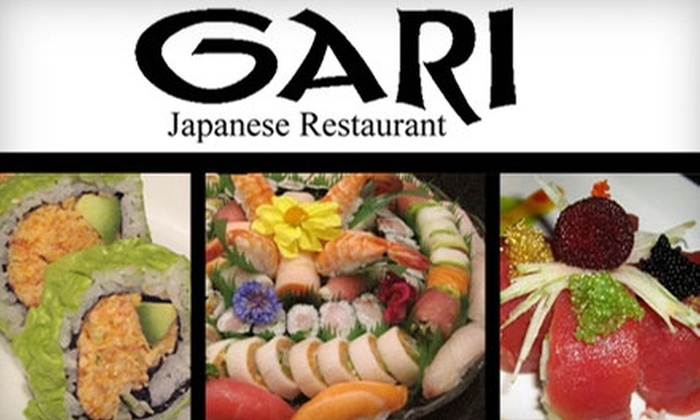 Gari Japanese Fusion - Coolidge Corner: $15 for $30 Worth of Sushi and Drinks at Gari Japanese Fusion