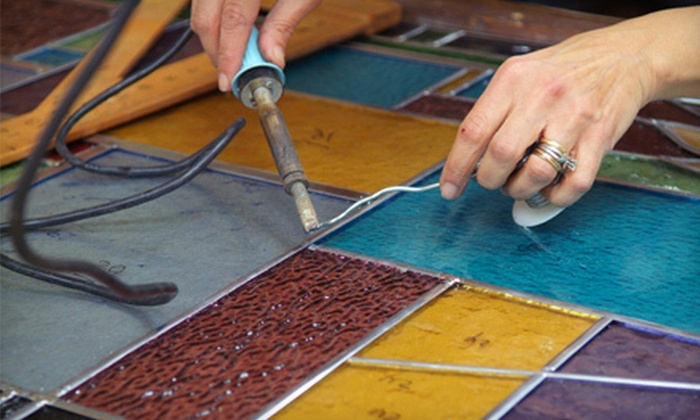 Glass Mosaic Canada - Stonegate - Queensway: Two-Hour Mosaic-Making, Stained Glass-Making, or Clay-Working Workshops for One, Two, or Four People at Glass Mosaic Canada (Up to 55% Off)