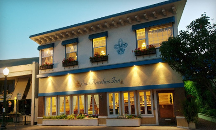 San Anselmo Inn - Downtown San Anselmo: Two-Night Weekday or Weekend Stay for Two with Breakfast at San Anselmo Inn (Up to 53% Off)