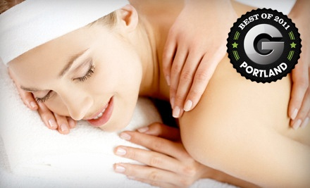 65-Minute Aequis Couples Massage (a $260 total value) - Aequis Spa Retreat in Portland