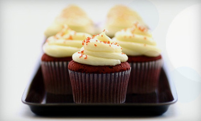 Slade Grove Creative Gourmet: One-Dozen Cupcakes or Brownies with Delivery from Slade Grove Creative Gourmet (Up to 54% Off)