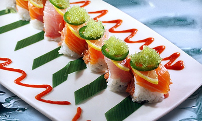 Naan Sushi Japanese Restaurant - Dallas: $25 for $50 Worth of Japanese Cuisine at Naan Sushi Japanese Restaurant in Uptown