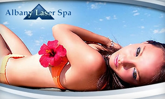 Albany Laser Spa - Colonie: $99 for Three Laser Hair-Removal Treatments at Albany Laser Spa (Up to $900 Value)