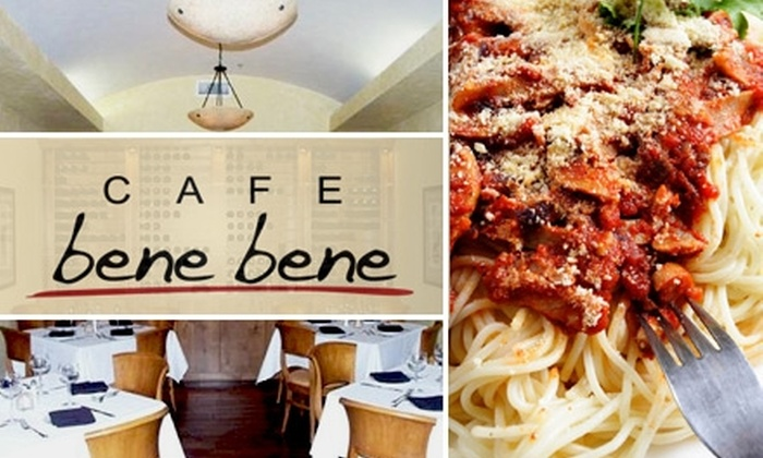 Bene Bene Ristorante - Far North Dallas: $10 for $25 Worth of Italian Fare at Cafe Bene Bene