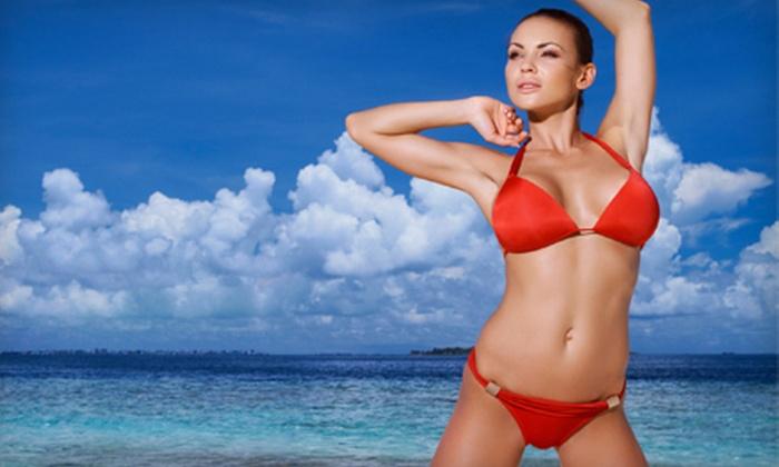 Maximum Tan - Multiple Locations: VersaSpa Spray Tans or UV Tanning Services at Maximum Tan (Up to 54% Off)