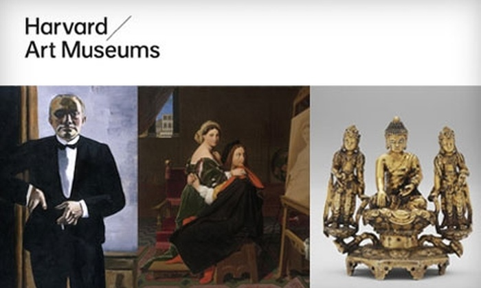 Harvard Art Museums - Mid-Cambridge: $8 Admission for Two to the Harvard Art Museums ($18 Value)