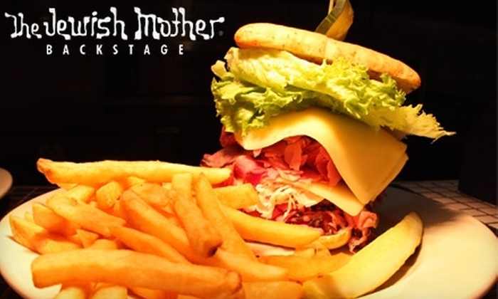 The Jewish Mother - Downtown Norfolk: $12 for $25 Worth of Deli Fare at The Jewish Mother in Norfolk