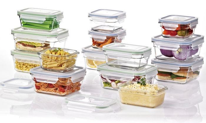 Glasslock Food Storage Container Sets ...  sc 1 st  Groupon & Up To 13% Off on Glasslock Food Storage Sets | Groupon Goods