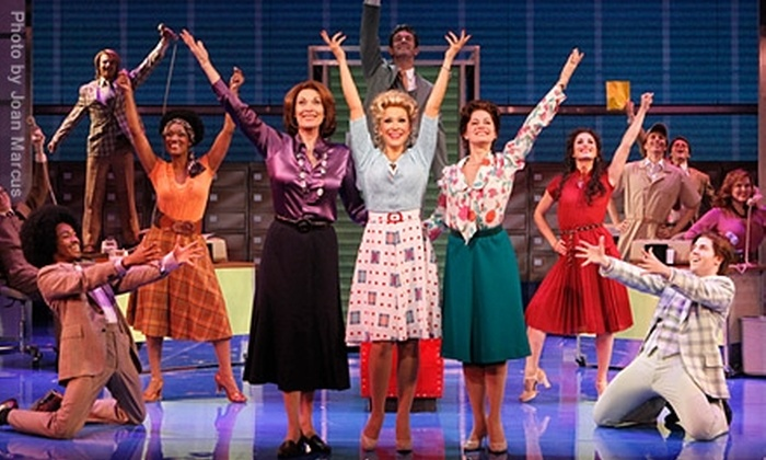 "Denver Center Attractions - Central Business District: $24 for One Ticket to ""9 to 5: The Musical"" at the Buell Theatre (Up to $75 Value). 16 Shows Available."
