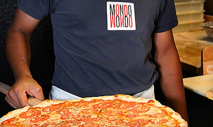 Mondo - Middletown: $15 for $30 Worth of Artisan Italian Fare and Drinks at Mondo in Middletown