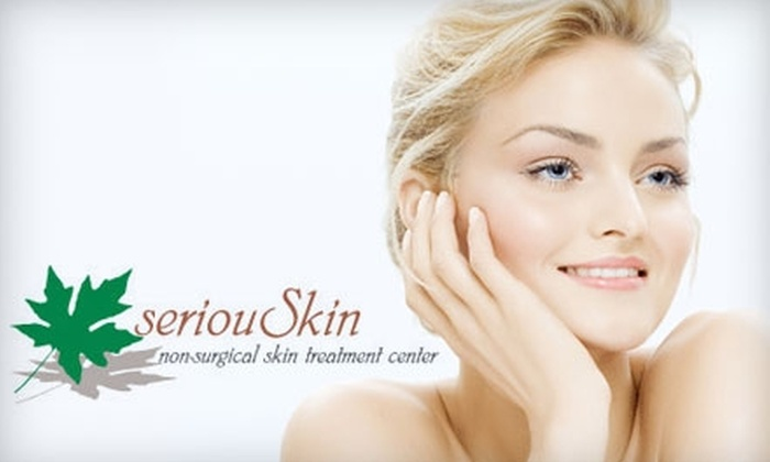 seriouSkin - Pittsford: $99 for Three Laser Hair-Removal Sessions at seriouSkin ($375 Value)