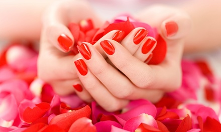 Up to 58% Off Gel manicure packages at Lavish Nail Spa