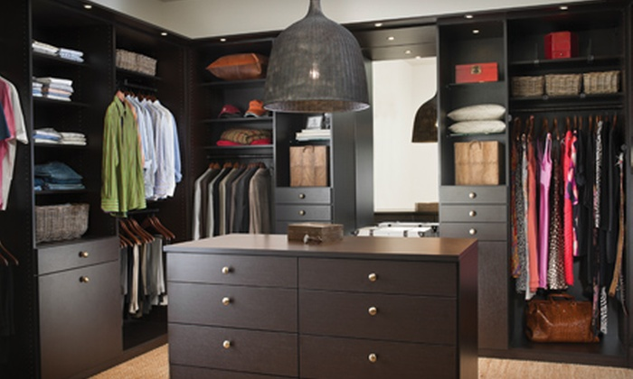 California Closets - Ravena : $95 for $250 Toward an Organizing System from California Closets
