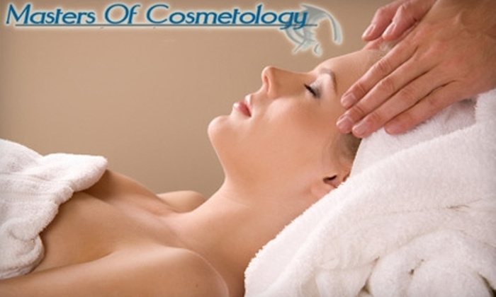 Masters of Cosmetology College - Fort Wayne: $45 for a Spa Day Package at Masters of Cosmetology College ($103 Value)