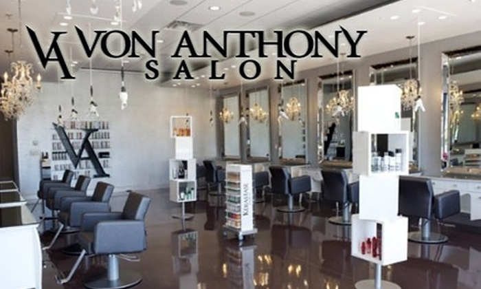 Von Anthony Salon - Frisco: $60 Worth of Salon or Spa Services at Von Anthony Salon