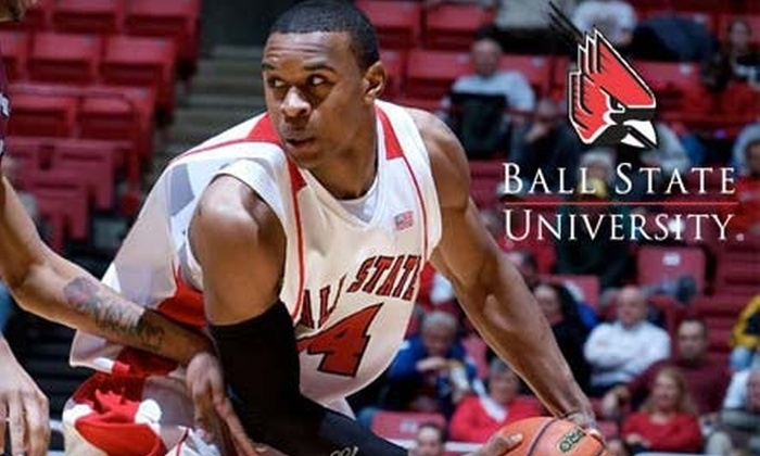 Ball State University - Muncie: $25 for Four Tickets to Any Ball State Men's Basketball Game, Free Parking, and $15 Food and Drink Voucher