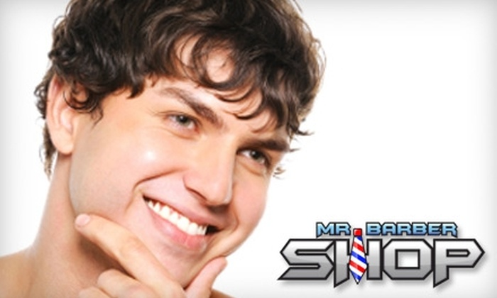 Mr. Barbershop - Multiple Locations: $15 for $30 Worth of Hair-Styling Services at Mr. Barbershop