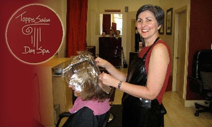 Topps Salon Day Spa - Old City: $30 for $60 Worth of Hair Services at Topps Salon Day Spa in Oakland
