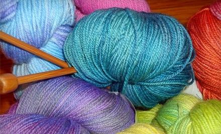 $30 Groupon for Yarn at Looped Yarn Works - Looped Yarn Works in Washington