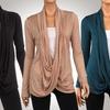Hacci Crisscross Women's Cardigans (3-Pack) (Size L)