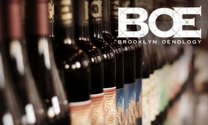 Brooklyn Oenology - Greenpoint: $7 for Flight of Wine at Brooklyn Oenology (Up to $16 Value)