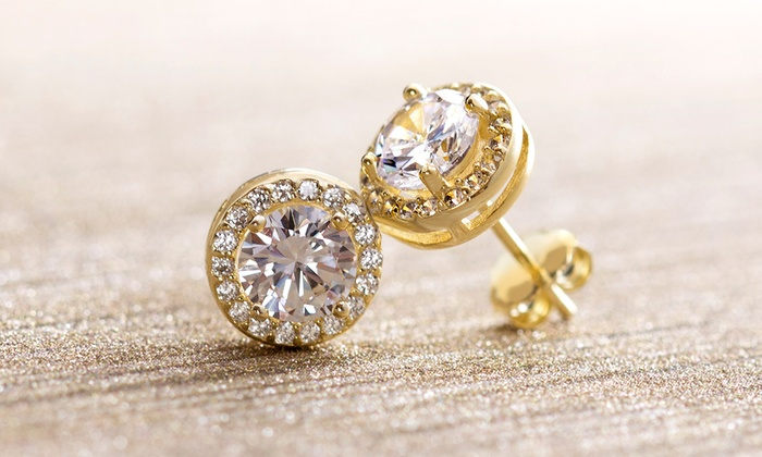 e905e78871a6c Up To 82% Off on Earrings with Swarovski Elements | Groupon Goods