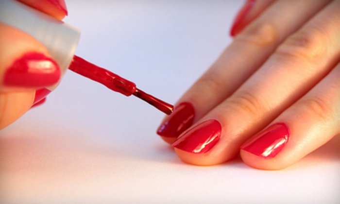 Brilliant Hair Studio - Quigley Park: Manicure, Manicure with Mini Pedicure, or Three Manicures at Brilliant Hair Studio (Up to 55% Off)