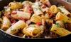 ⏰ Menu con specialità di pasta