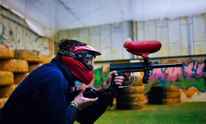 image for Two-Hour Paintball Session with 100 Balls and Snacks for Up to 20 People at Urban Paintball Edinburgh (Up to 96% Off)