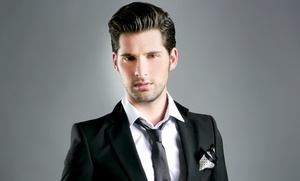 SAL-ON.com: One or Three Men's Haircuts with Shampoos and Styles at SAL-ON.com (Up to 62% Off)
