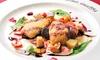 東京都/六本木 ≪豚ヒレ肉とフォアグラのカツレツ・ピザなど7品+飲み放題120分≫