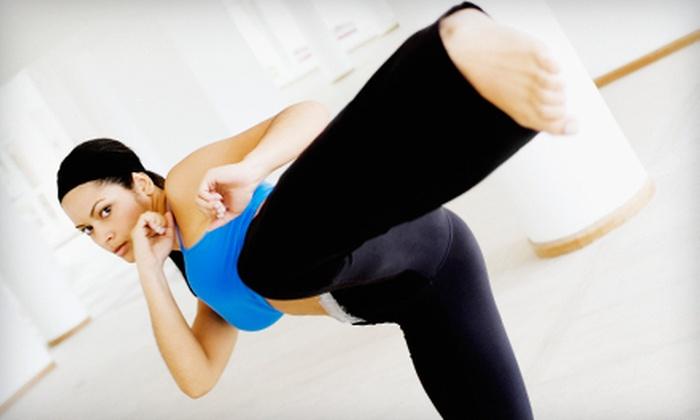 Studio Kelani - Windsor: Three or Six Turbo Combat or Cardio Kickboxing Classes at Studio Kelani (Up to 60% Off)