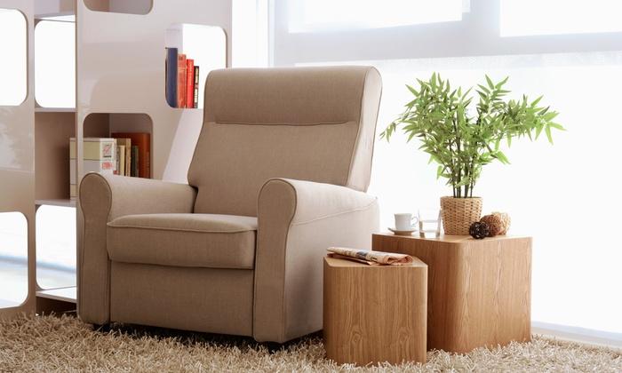 Poltrona reclinabile abies groupon goods for Groupon shopping arredamento